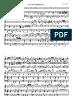 Otoño Porteño. Astor Piazzolla. Arreglo Juan Ciámpoli. Piano y Guitarra