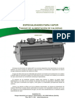 Catalogo Tanque de Agua de Alimentacion(ADCA)