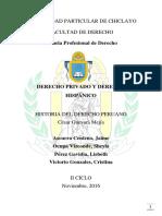 Derecho Privado y El Derecho Hispánico