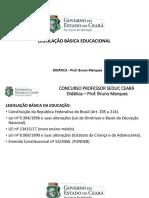 LEGISLAÇÃO Cf Ldb Fundeb Eca