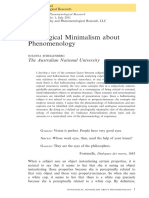 Schellenberg, S. - Ontological Minimalism about Phenomenology.pdf