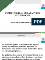 Competitividad de La Empresa Exportadora Mexicana 2007