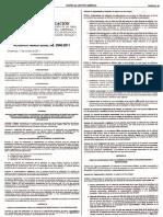Reglamento de Evaluación de Áreas Especificas