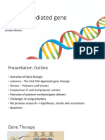 Polymer Mediated Gene Delivery Pharmaceutical