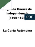 Segunda Guerra de Independencia