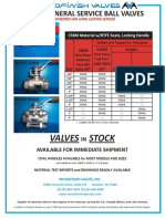 Wog General Service Ball Valves