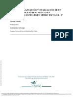 Diseño, Implantación y Evaluación de Un Programa d... ---- (Pg 1--9)