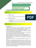 Bioquimica de Alimentos Determinacion de Acidez en Leche y Harina