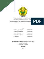 Makalah Laporan  Jumlah Aspek Fisik dan Jumlah Penduduk Kecamatan Balung Kab. Jember