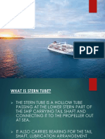 Group oil lub stern tube