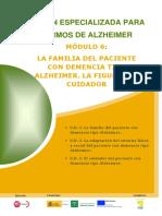 Módulo 6. La Familia del paciente con demencia tipo alzheimer. La figura del cuidador..pdf