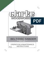 Belt Sander Cs4-6c