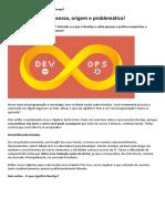 BeCode _ O Que é DevOps Processo, Origem e Problemática
