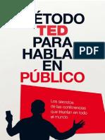 01 EL Metodo TED Para Hablar en Publico