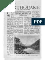 Kingdon Ward on 1950 Assam Earthquake