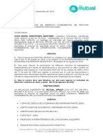 Derecho de Peticion Afiliacion Colectiva