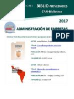 Biblio Novedades Administracion Empresas 3