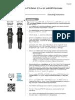 Signet 2537 Paddlewheel Flow Sensor (English)