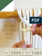 Macrame Basic Knot