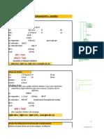 Excel Diseño - Cloracion