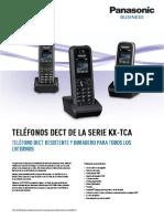 Kx-tca Series Spec Sheet - Es