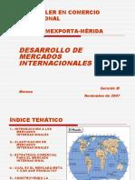 Desarrollo de Mercados internacionales 2007