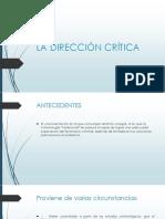 Direccion Critica
