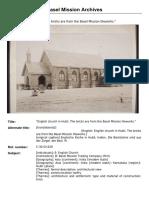 Basel Mission Church