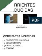 Presetacion  ET CORRIENTE INDUCIDAS.ppt