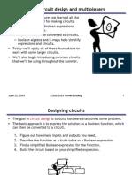 04 Basic Circuit Design and Multiplexers
