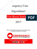 Emergency Care Algorithms for Rural Settings 2017