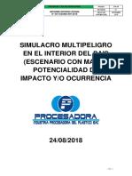 Informe Simulacro Modelo