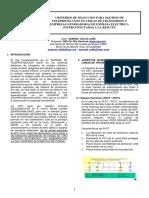Criterios de Seleccion Para Eq de Teleproteccion