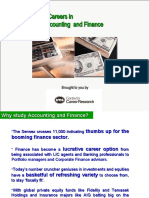 Careers in Accounting & Finance