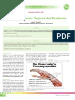 10_267CME-Sindrom de Quervain-Diagnosis Dan Tatalaksana