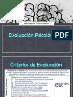 Evaluación Psicológica 3 Para La Clase