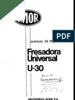 Romi u30 - Manual de Peças 1