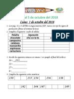 Tareas 1° Del 1 al 5 de OCTUBRE 2018-converted