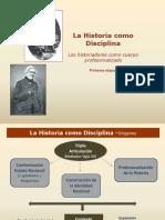 La Historia Como Disciplina - Orígenes [Autoguardado]
