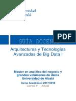 Arquitectura Avanzada de Big DAta