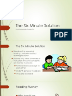 6 Minute Solution PP