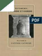 Plutarch - O Izydzie i Ozyrysie