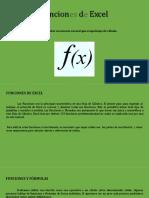 Introducción a Funciones de Excel