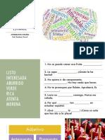 El Adjetivo en Español