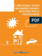 NIÑAS Y NIÑOS VÍCTIMAS Y TESTIGOS EN LOS PROCEDIMIENTOS JUDICIALES Implicaciones desde la Psicología Forense.pdf