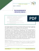 Lechuzoneria -Elementos Basicos de Esquizofrenogenia.