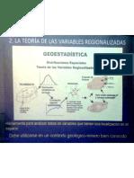 Analisis geoestadistico de vetas II