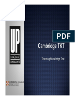 1cambridge Tkt Teaching Knowledge Test