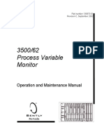 136973-01 Rev C 3500 62 Process Variable Module Operation and Maintenance Manual