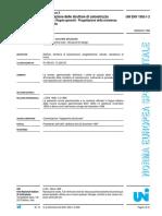 Eurocodice 2 - Uni Env 1992-1-2 Progettazione Delle Strutture Di Calcestruzzo Parte 1-2 Regole Generali Progettazione Della Resistenza All'Incendio